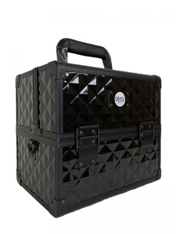 Бьюти кейс для визажиста OKIRO CWB 5350 черный бриллиант - изображение 4