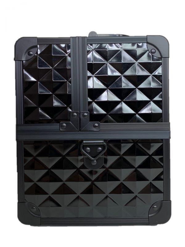 Бьюти кейс для визажиста OKIRO CWB 5350 черный бриллиант - изображение 2