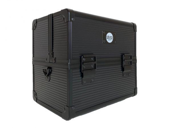 Бьюти кейс для визажиста OKIRO CWB 5350 черный в полоску - изображение 2