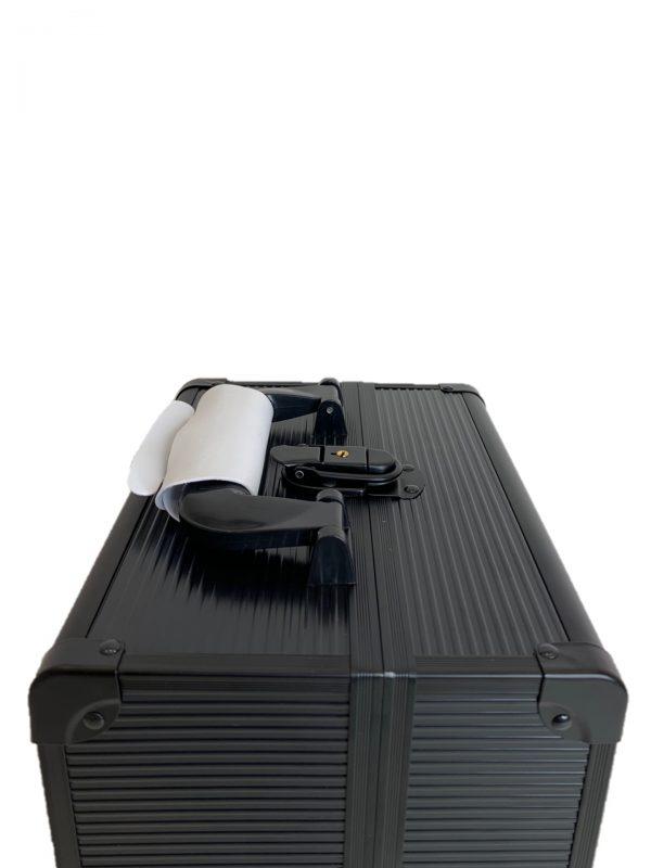 Бьюти кейс для визажиста OKIRO CWB 5350 черный в полоску - изображение 3