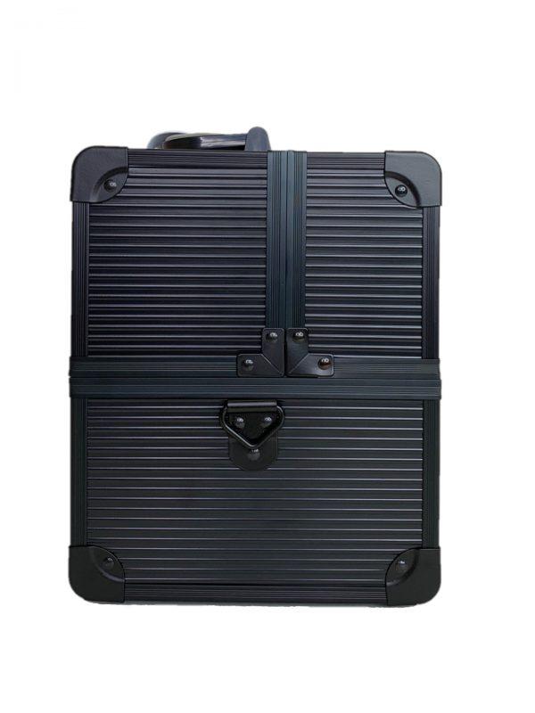 Бьюти кейс для визажиста OKIRO CWB 5350 черный в полоску - изображение 4
