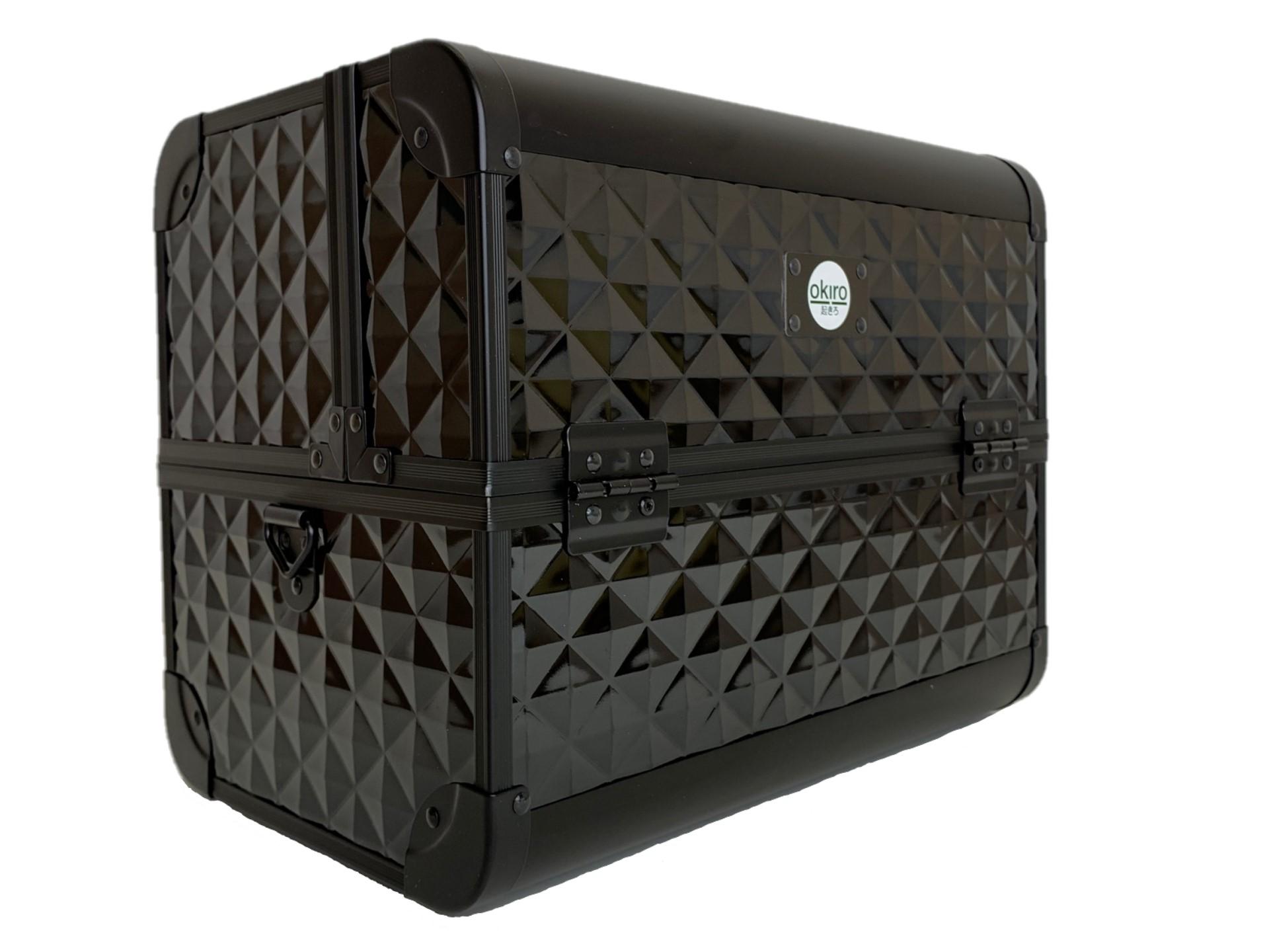 Бьюти кейс для визажиста OKIRO CWB 6350 черный бриллиант - изображение