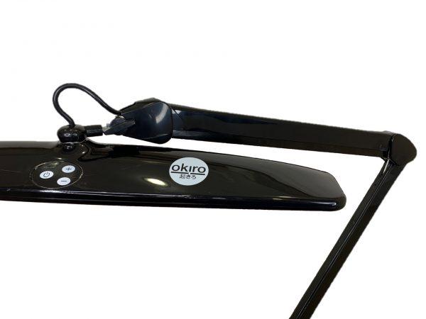 Лампа настольная светодиодная LED 84 - 8015A (чёрная) - изображение 3