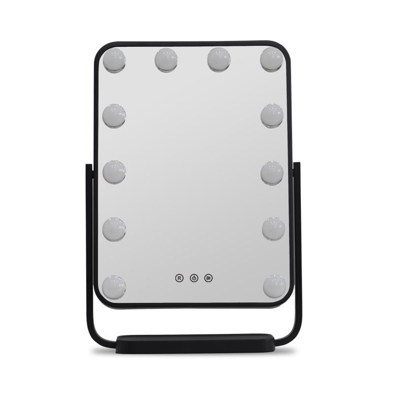 Зеркало гримерное настольное DP330 А (черное) - изображение