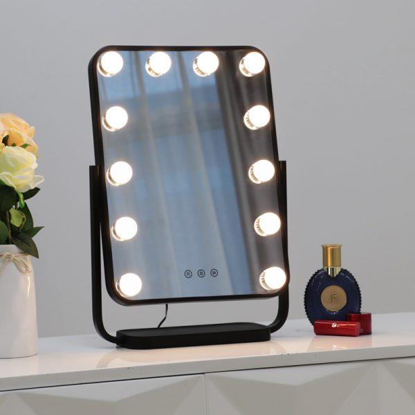 Зеркало гримерное настольное DP330 А (черное) - изображение 6