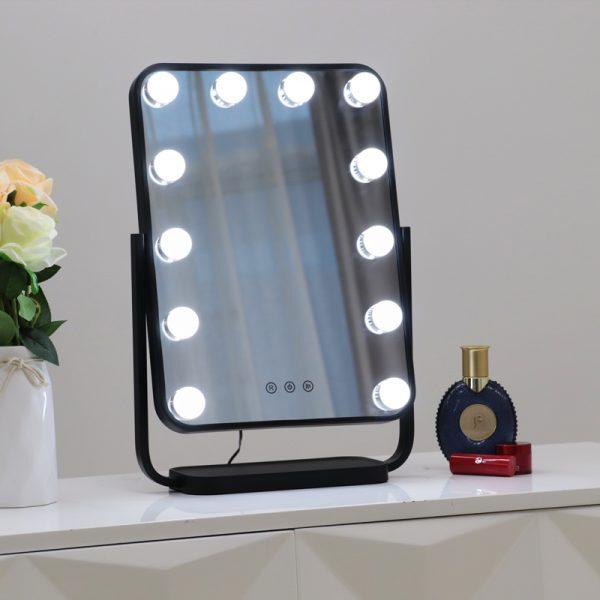 Зеркало гримерное настольное DP330 А (черное) - изображение 7