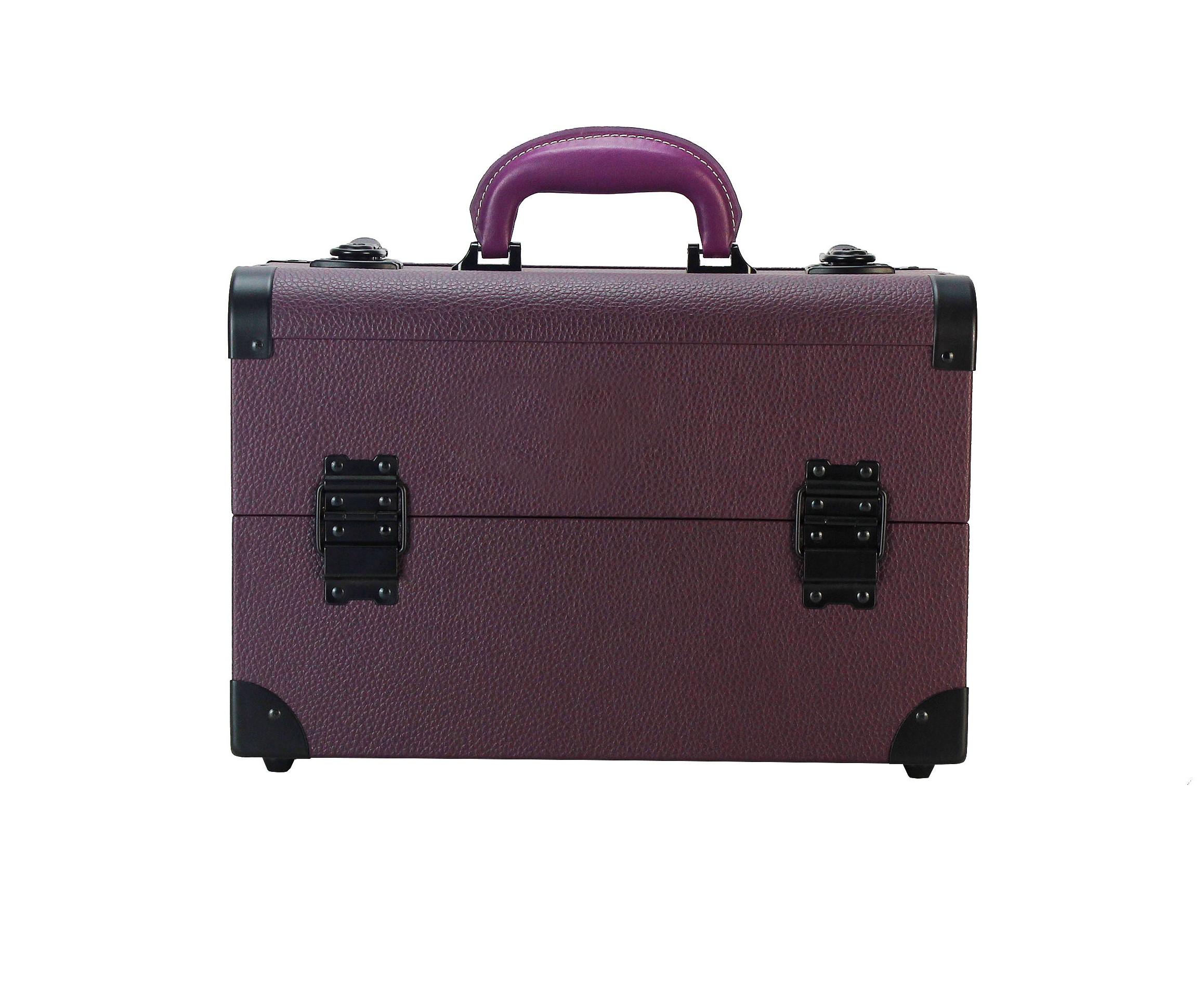 Бьюти кейс для визажиста MC 3622 (фиолетовый) - изображение