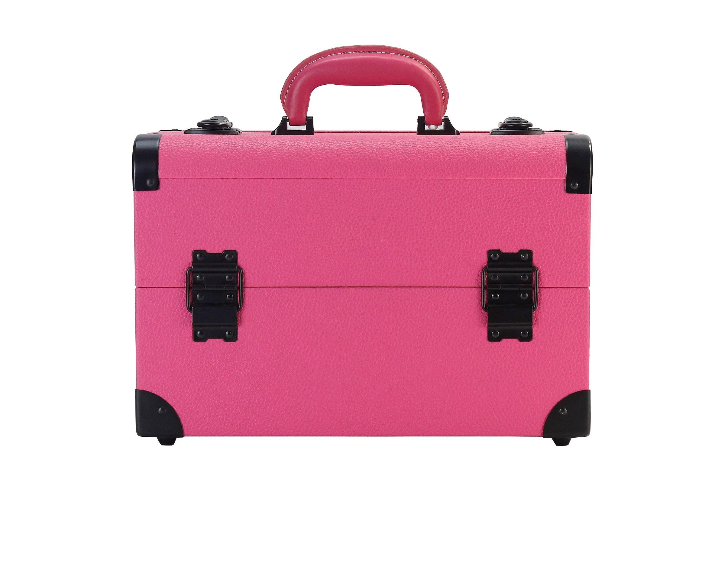 Бьюти кейс для визажиста MC 3622 (розовый) - изображение