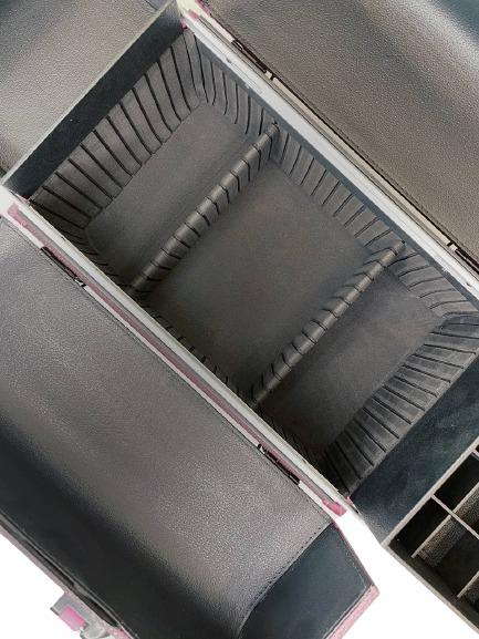Бьюти кейс для визажиста MC 3622 (фиолетовый) - изображение 8