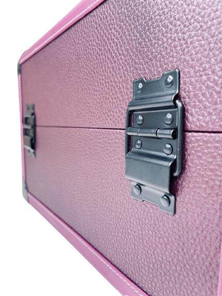 Бьюти кейс для визажиста MC 3622 (фиолетовый) - изображение 4