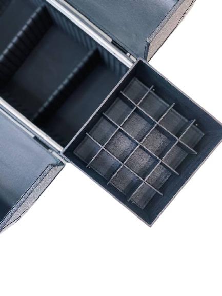 Бьюти кейс для визажиста MC 3622 (черный) - изображение 4