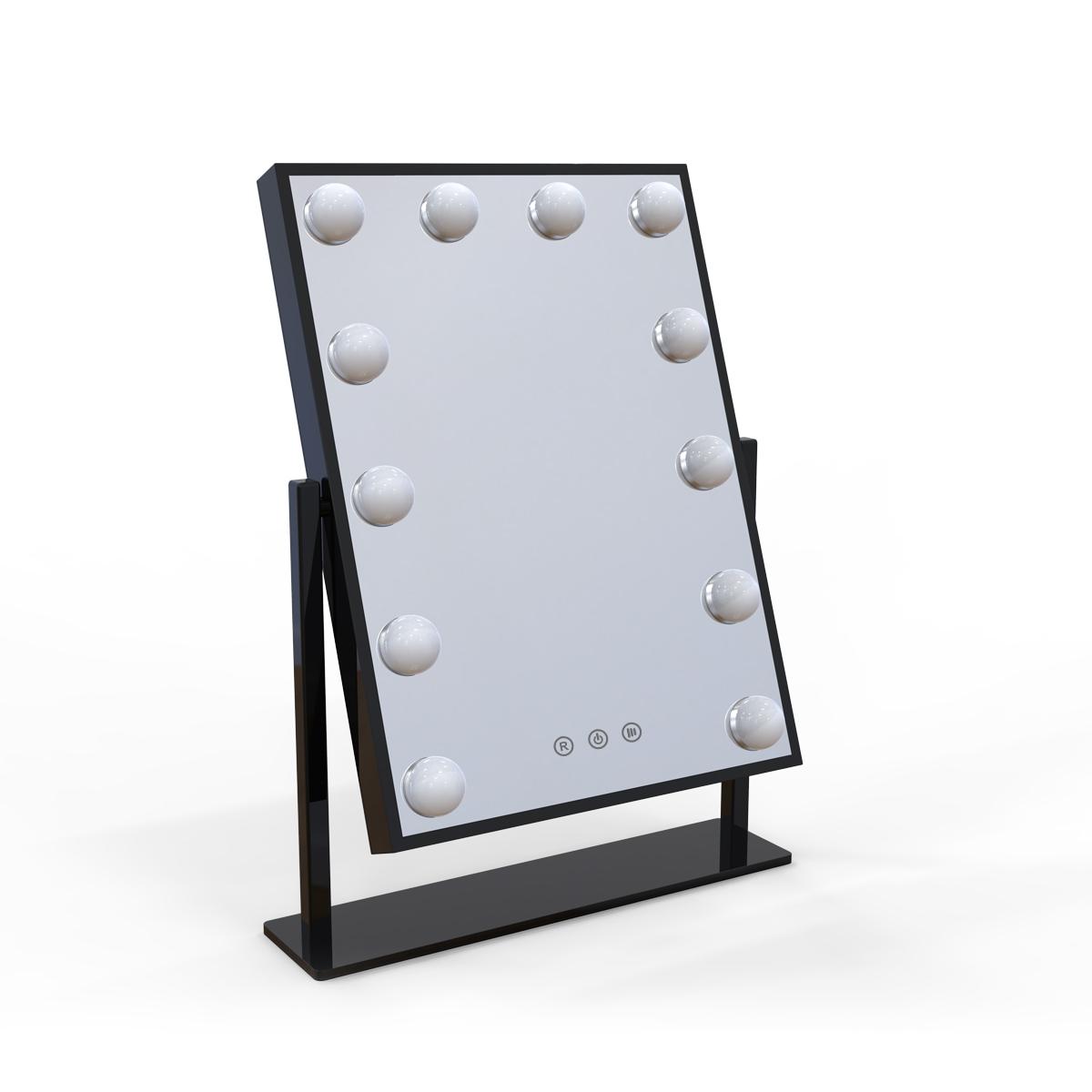 Зеркало гримерное настольное DP330 (черный) - изображение