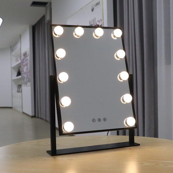Зеркало гримерное настольное DP330 (черный) - изображение 8